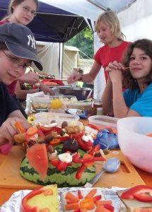 Partybuffet-Jugendliche